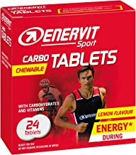 Enervit Sport Carbo Chewable Tablets Lemon 12 Packs of 24 Tablets Estimated Price : £ 90,00