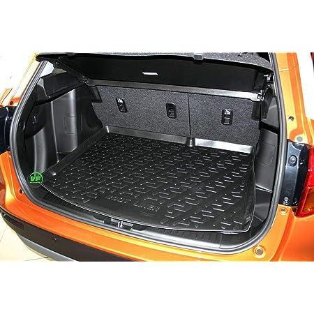 Azuga Az12000319 Gummi Kofferraumwanne Premium Antirutsch Fahrzeugspezifisch Auto