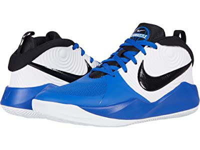 Nike Kids Team Hustle D 9 (Big Kid) (Game Royal/Black/White 2) Kids Shoes