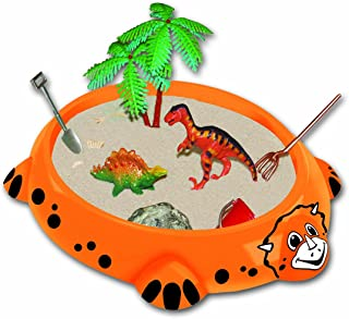 Sunny Patch Beach Play Series /& 1 Scratch Art Mini-Pad Bundle Melissa /& Doug Seaside Sidekicks Sand-Molding Set 06423
