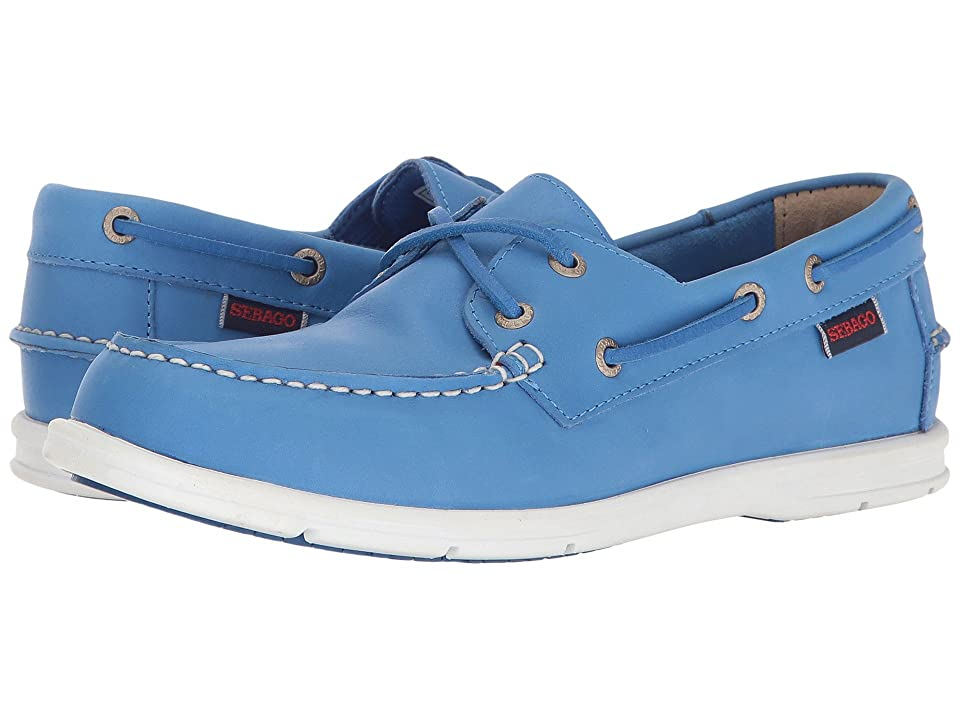 Sebago Liteside Two Eye (Blue Leather) Women