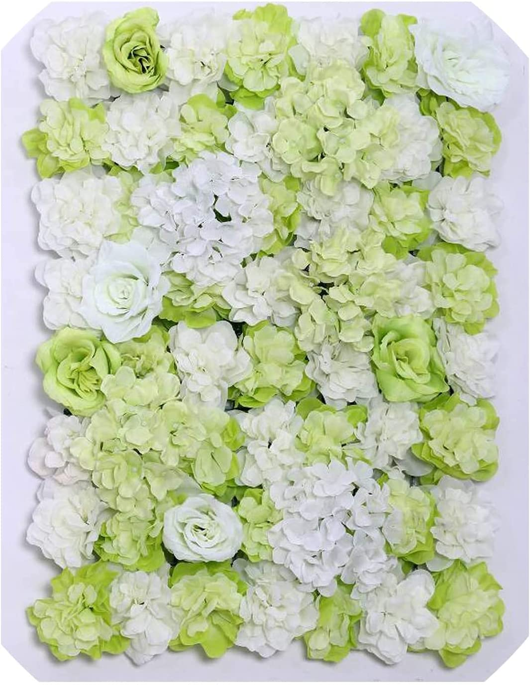 ARGYJAE Colorado Springs Mall 60x40cm Artificial Flower Wall Road Max 74% OFF Decoration Hydr Lead