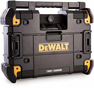 Dewalt DWST1-81079-GB TSTAK Connect Radio and Charger 6 Speakers 45 Watts, W, 18 V, Multi-Coloured, 52 x 40 x 18