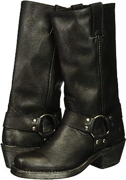 Black Multi Metallic Oiled Leather