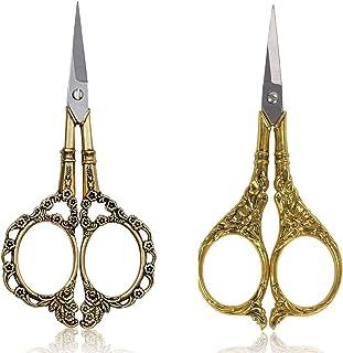 BIHRTC Scissors 4.5 Inch Embroidery Scissors Small Sewing Scissors Stainless Steel Sharp Tip Scissors DIY Tools Dressmaker...