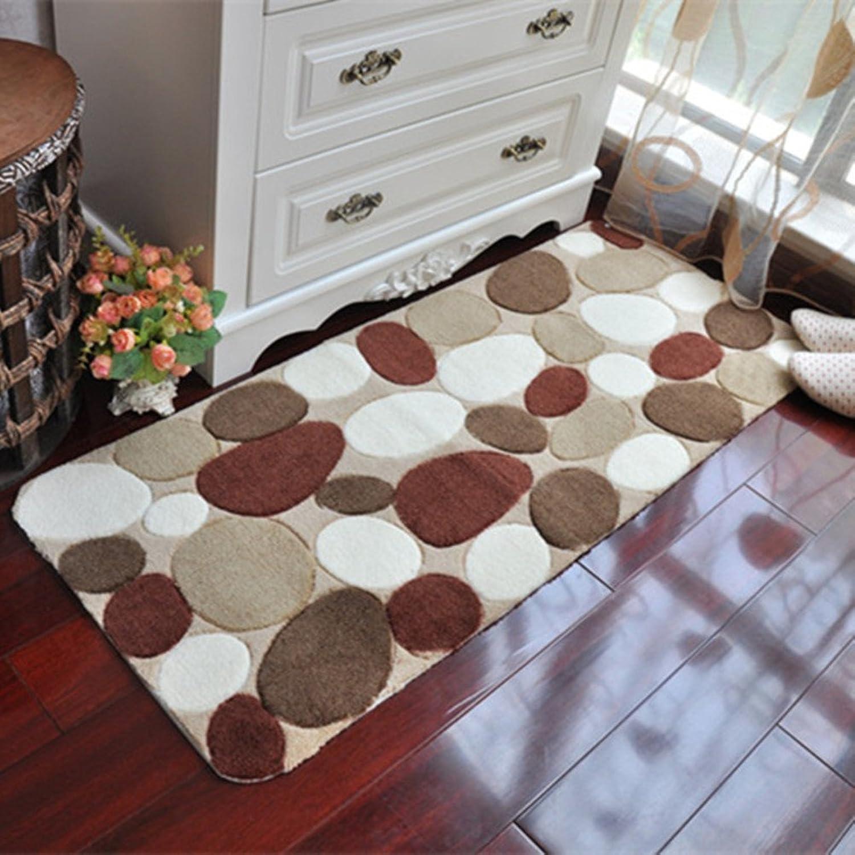 Doormats Water-Absorption Door mat Indoor mat for Bathroom Kitchen -H 78x118cm(31x46inch)