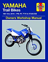 Yamaha PW, RT, TT-R & XT225/350 Trailbikes (81-16) Haynes Repair Manual (Haynes Powersport)