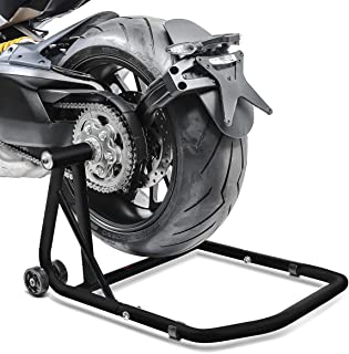 Caballete Trasero Triumph Speed Triple/R 97-19 black mate, ConStands Single por Basculante Monobrazo, adaptadore incl.