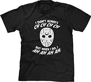 Blittzen Mens T-Shirt I Don't Always CH CH CH CH