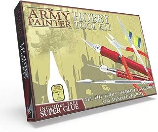 The Army Painter | Hobby Tool Kit | Lot d'Outils pour Débutants comprenant Couteau, Lime, Cutter et autres Outils adaptés ...