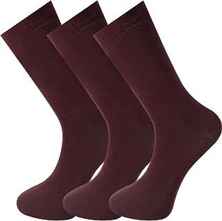 Mysocks, Unisex 3 pares de calcetines sin costuras dedo del pie más fino peinado algodón