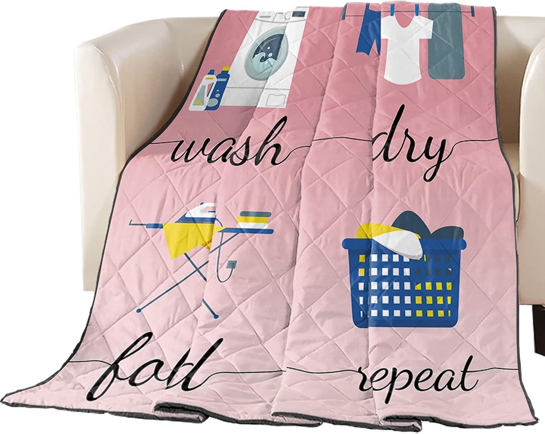 Arts Print Oversized Queen Quilt Throw Brand new Lightweight Bedspread Virginia Beach Mall Sof