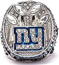 MVPRING Super Bowl 1966-2019 Replica Championship Ring: New England Patriots Philadelphia Eagles Denver Broncos Chicago Bears New Orleans Saints Seahawks