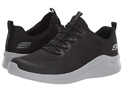 SKECHERS Ultra Flex 2.0 Kelmar (Black/Gray) Men