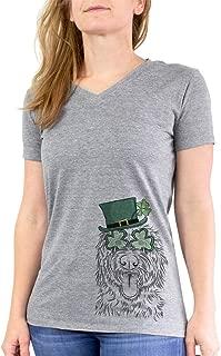 St. Patrick's Day Bennett The Doodle Dog Triblend T-Shirt