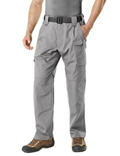 Men's Tactical Pants Lightweight EDC Assault Cargo