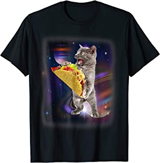 Cat Taco In Space Funny T-shirt For Cat And Taco Lovers