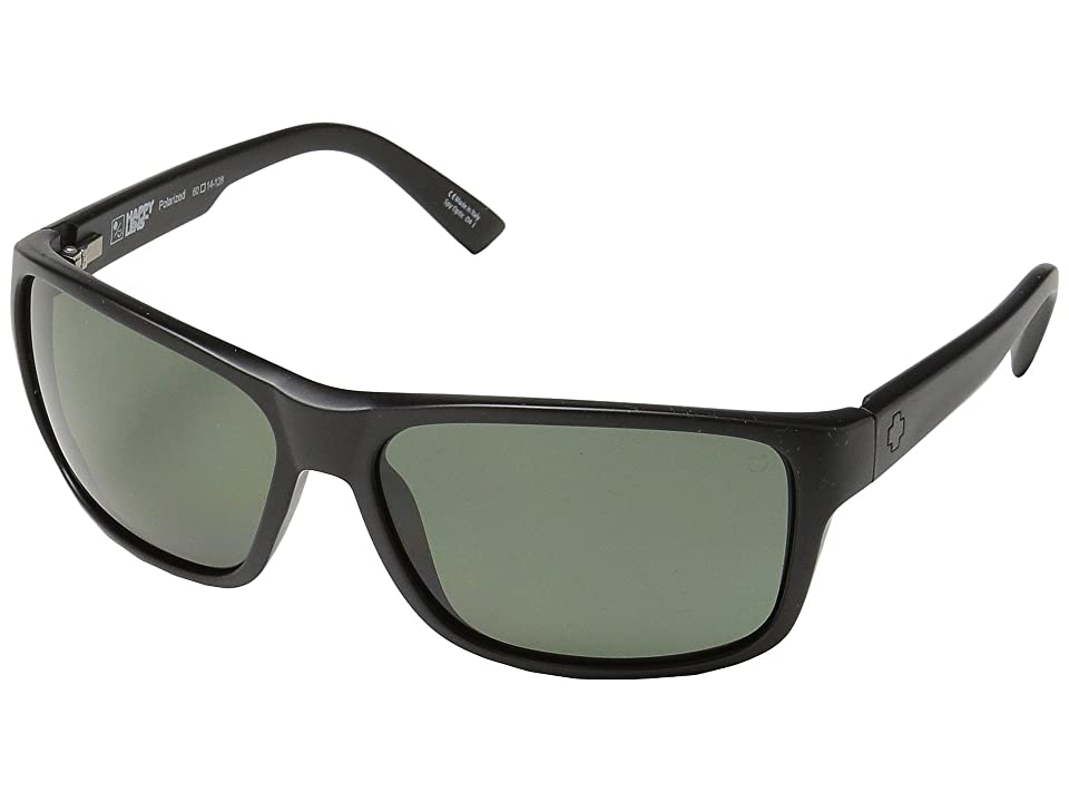 Spy Optic Arcylon (Matte Black/Happy Gray Green Polar) Sport Sunglasses