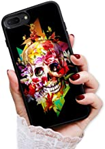 for iPhone 6, iPhone 6S, Durable Protective Soft Back Case Phone Cover, HOT13076 Horror Skull 13076