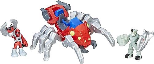 muchas sorpresas Playskool Heroes Heroes Heroes Marvel Super Hero Adventures Spider-Man con Spider Bots  80% de descuento