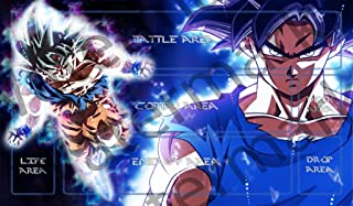 Masters of trade Dragonball Super Goku Ultra Instinct DBZ TCG playmat gamemat 24