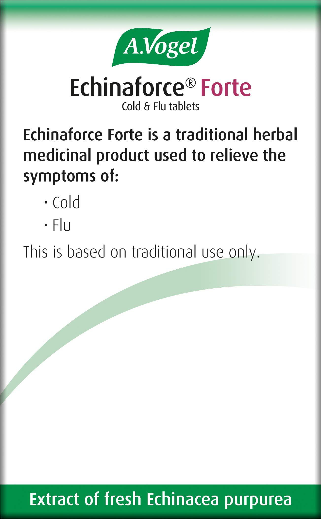 A.Vogel Echinaforce Forte Cold & Flu Tablets (40)