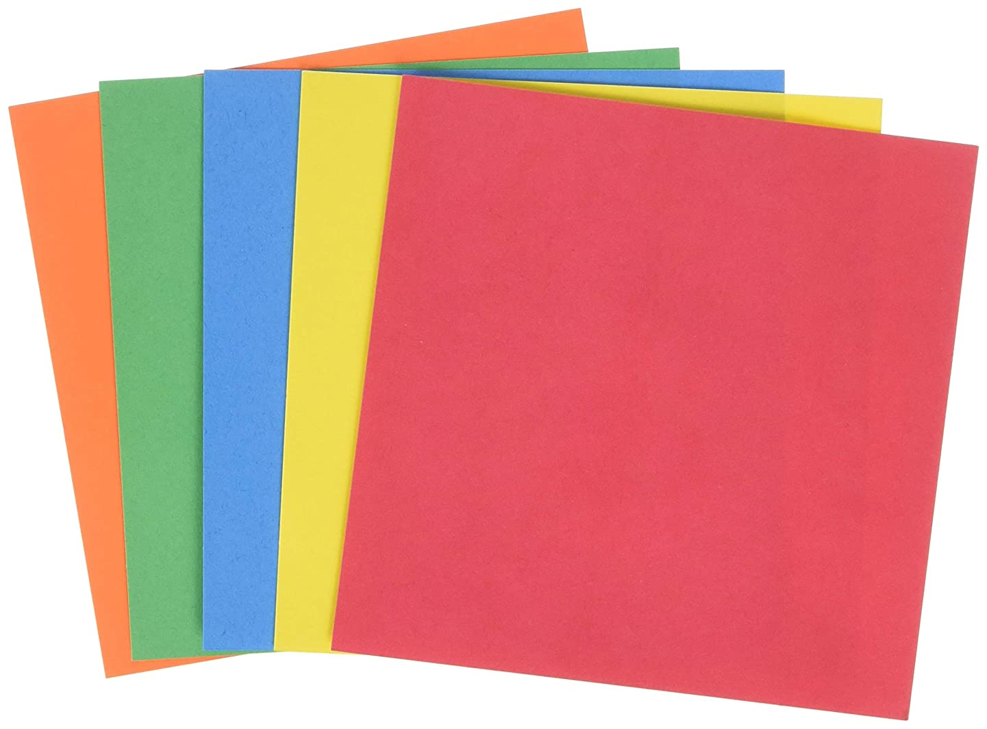 Hygloss Sturdy, Smooth Surface, Foldable Craft Paper (5051)