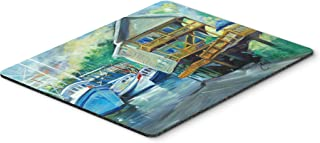 Caroline's Treasures Ocean Springs Harbour Landing Mouse Pad/Hot Pad/Trivet (JMK1069MP)