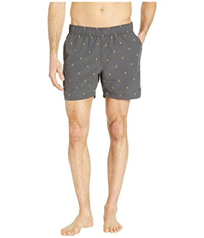 The North Face Class V 5 Pull-On Trunks (Asphault Grey Campfire Print) Men