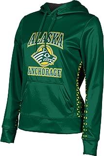ProSphere University of Alaska Anchorage Women's Pullover Hoodie, School Spirit Sweatshirt (Geometric)
