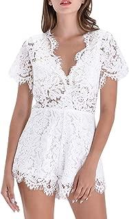 romper white lace