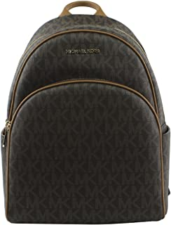 f9a82f4dad52 MICHAEL Michael Kors Women's Abbey Large Signature Logo Backpack, Style  35S7GAYB3B
