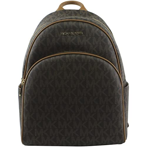 1a512042c7de MICHAEL Michael Kors Women's Abbey Large Signature Logo Backpack, Style  35S7GAYB3B