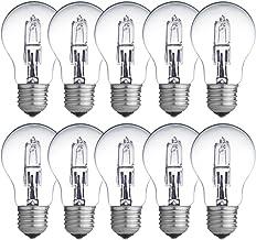 10 x Eco halogeenlamp 42W = 60W / 55W E27 helder gloeilamp 2000h dimbaar