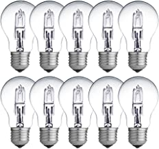 10 x Eco Halogen Glühbirne 42W = 60W / 55W E27 klar Glühlampe 2000h dimmbar