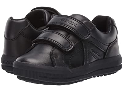 Geox Kids Jr Arzach 18 (Toddler) (Black Oxford) Boys Shoes