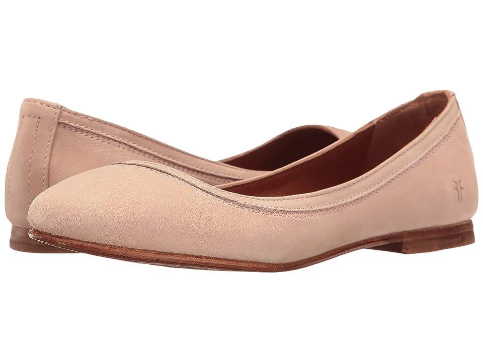 Frye Carson Ballet (Blush Oiled Nubuck) Women