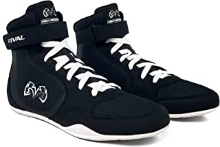 Rival Boxing Boots - RSX-Genesis Black Trainers Training Sparring