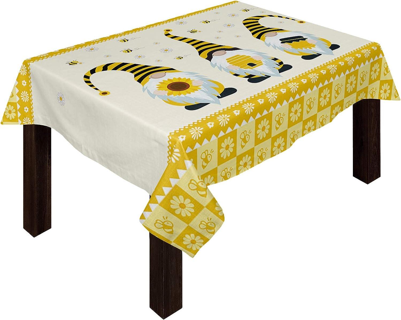 Trendychic Rectangular Burlap Table Cloth 新作多数 Cartoon wi Gnome 新作多数 Cute