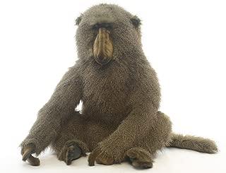 Hansa Sitting Large Adult Baboon Plush Stuffed Animal