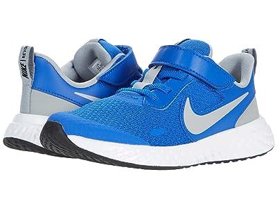 Nike Kids Revolution 5 (Little Kid) (Game Royal/Light Smoke Grey/White) Boys Shoes