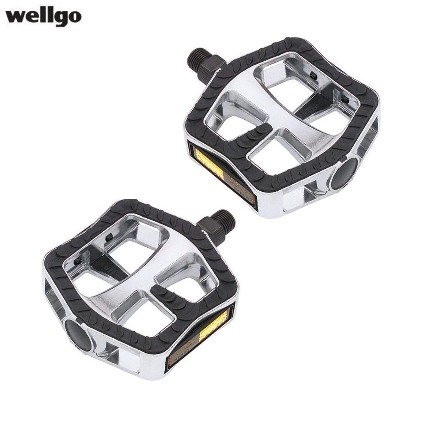 Wellgo R251DU Aluminum Road Bike Pedal White