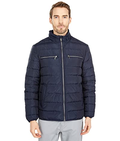 Cole Haan Packable Down Jacket (Navy) Men