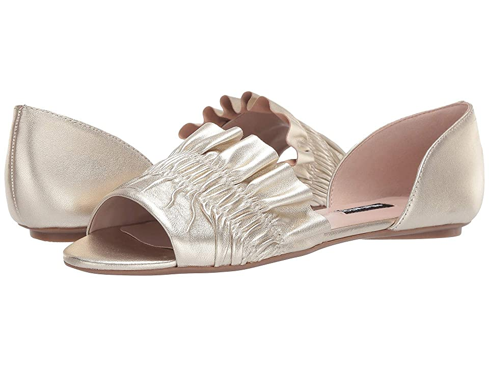 Nine West Babealert Flat (Platino) Women