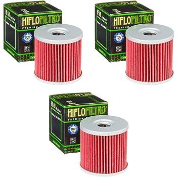 3x Filtro de aceite Hyosung GT 250 R i 11-14 Hiflo HF131