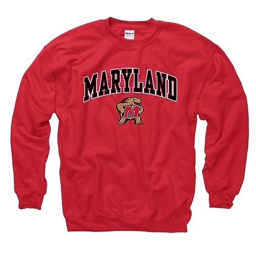 Campus Colors NCAA Adult Arch   Logo Gameday Crewneck Sweatshirt - Multiple  Teams 37feb5c68