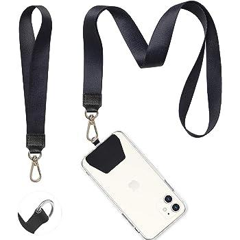 Jacquard Nylon Supreme Mobile Phone Lanyard ID Card Holder Hanging Clip Strap UK