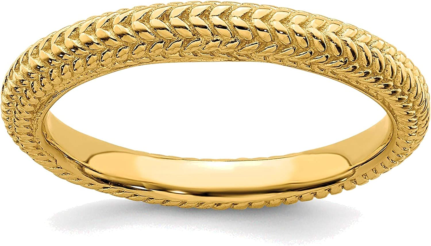 Bonyak Houston supreme Mall Jewelry Solid Sterling Silver Stackable Expressions Gold-