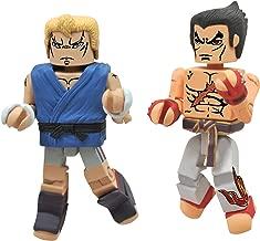 Diamond Select Toys Street Fighter X Tekken Minimates Series 2: Abel vs Kazuya, 2-Pack