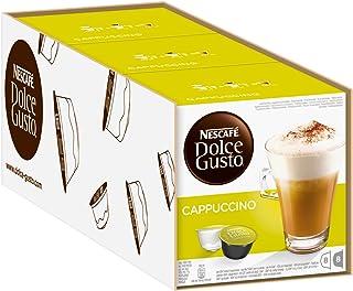 NESCAFÉ Dolce Gusto Cappuccino Arabica en Robusta bonen/volmondige koffie en soepel melkschuim/aroma verzegelde capsules/v...